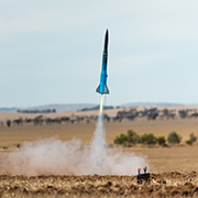 Image of a rocket being launched