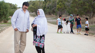 An Afghan Hazara family living in Naracoorte. Photo: Ady Shane Photography
