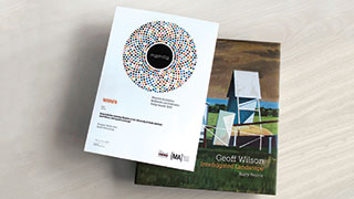 Geoff Wilson's book: Interrogated Landscape.
