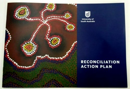 UniSA's Reconciliation Action Plan booklet