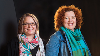 Co-Directors of UniSA's new Behaviour-Brain-Body Research Centre (BBB), Jill Dorrian and Associate Professors Siobhan Banks.