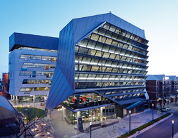 UniSA's state-of-the-art Jeffrey Smart Building