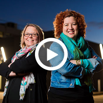 Associate Professors Siobhan Banks and Jill Dorrian