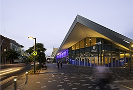 The new Pridham Hall