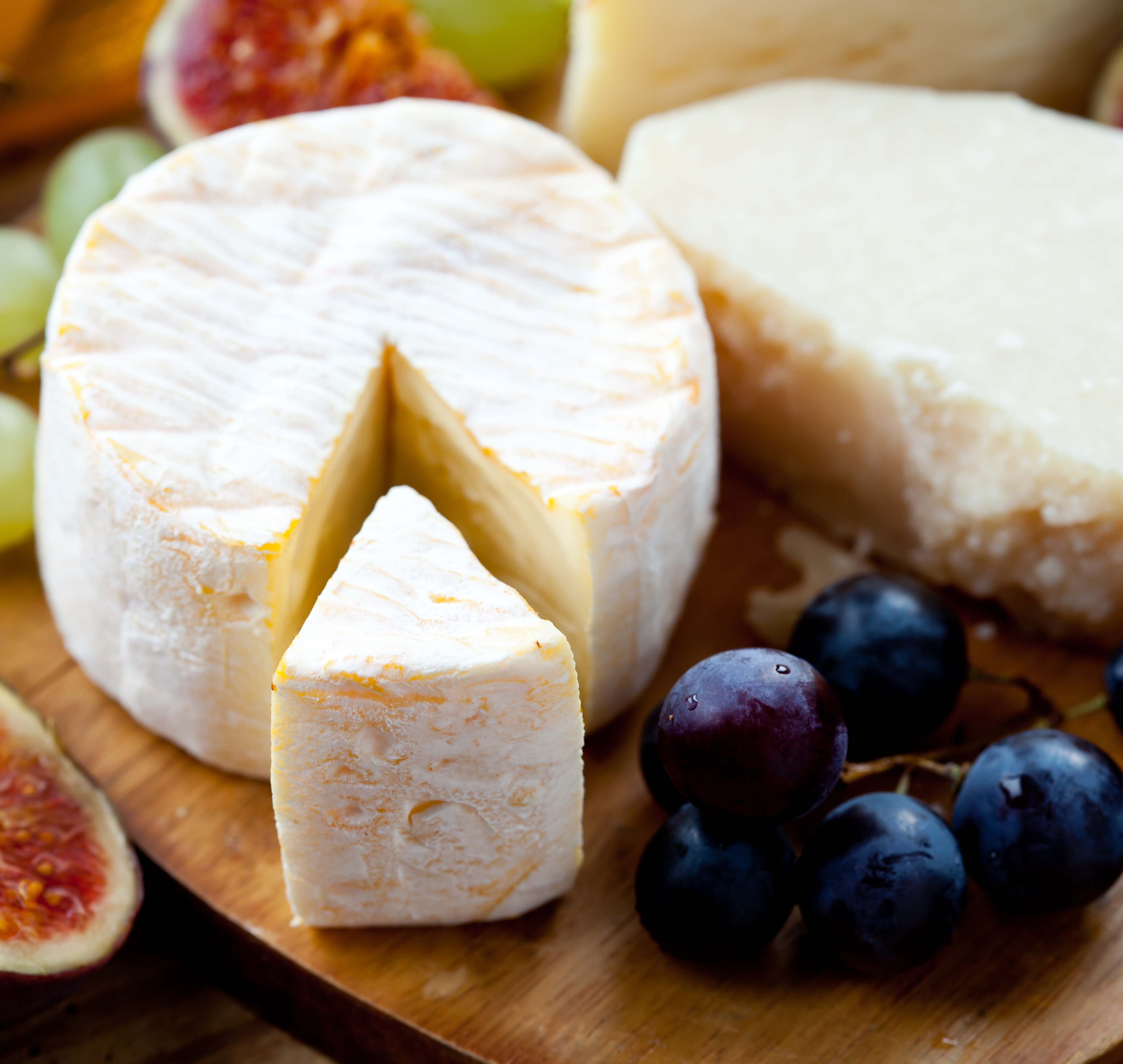 cheese and fruit