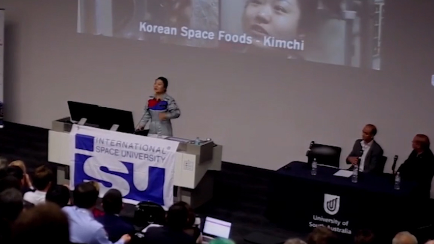 Case Study presented by Korean Astronaut