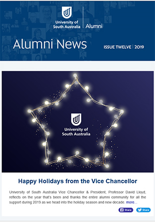 Alumni News Issue Twelve Cover