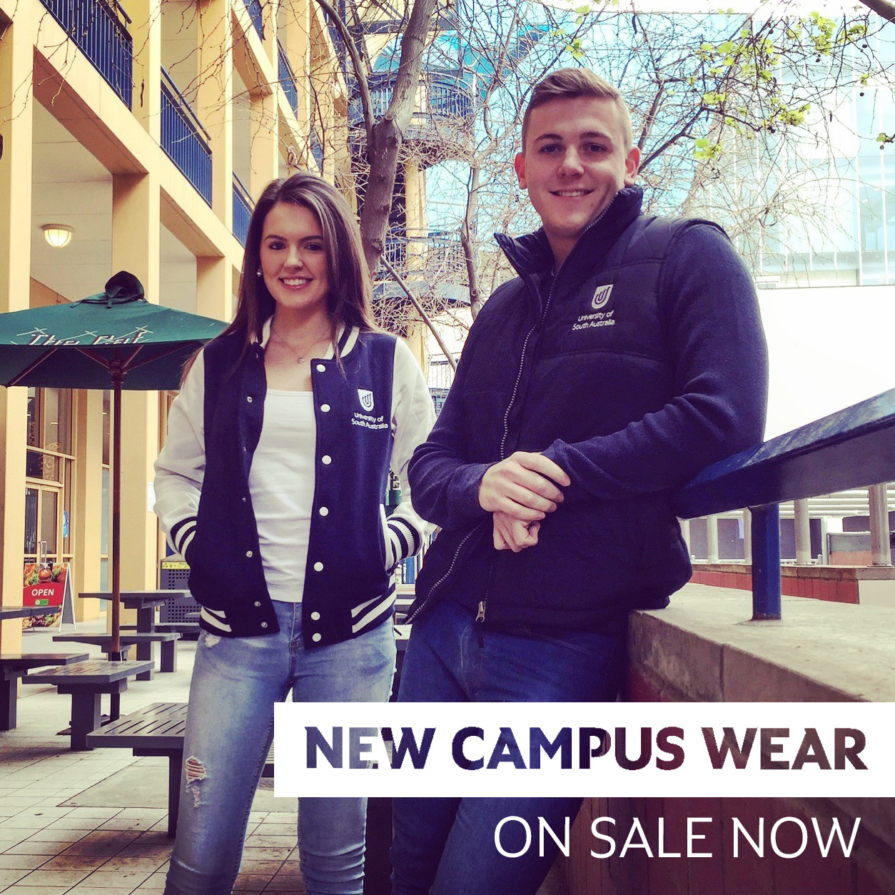 Campus merchandise sale