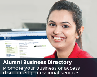 Alumni Business Directory - Promote your business or access discounted professional services