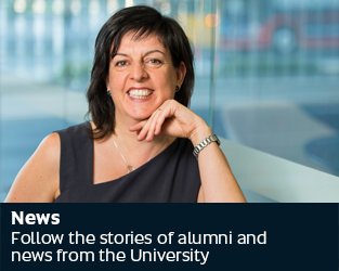 News - Follow the stories of alumni and news from the University