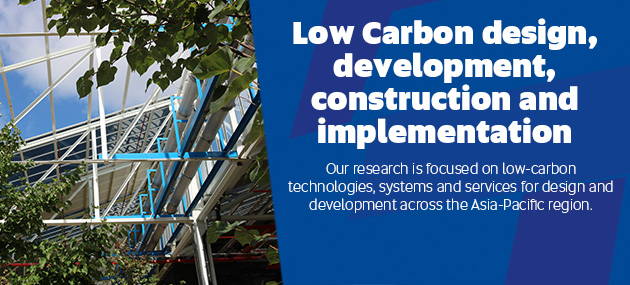 Low Carbon design, development, construction and implementation