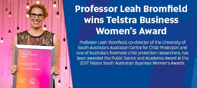 UniSA professor wins Telstra Business Women's Award