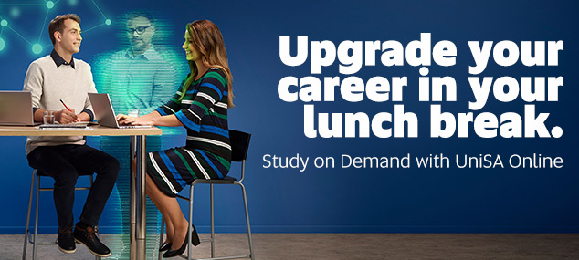 Upgrade your career in your lunch break