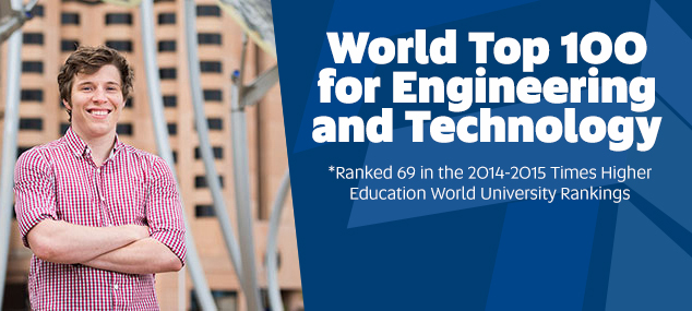 World Top 100 for Engineering and Technology*