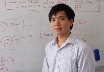 Ian Davey Research Thesis Prize winner Thuc Le