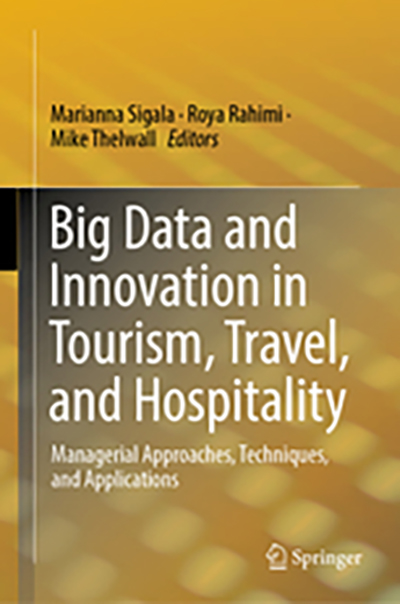 Book cover: Big Data and Innovation in Tourism, Travel, and Hospitality