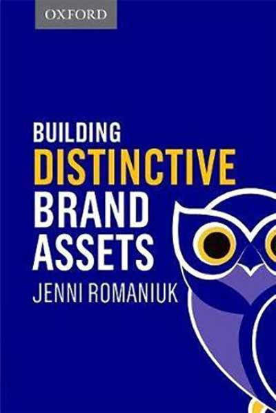 Book cover: Building Distinctive Brand Assets