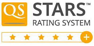 QS stars rating system logo